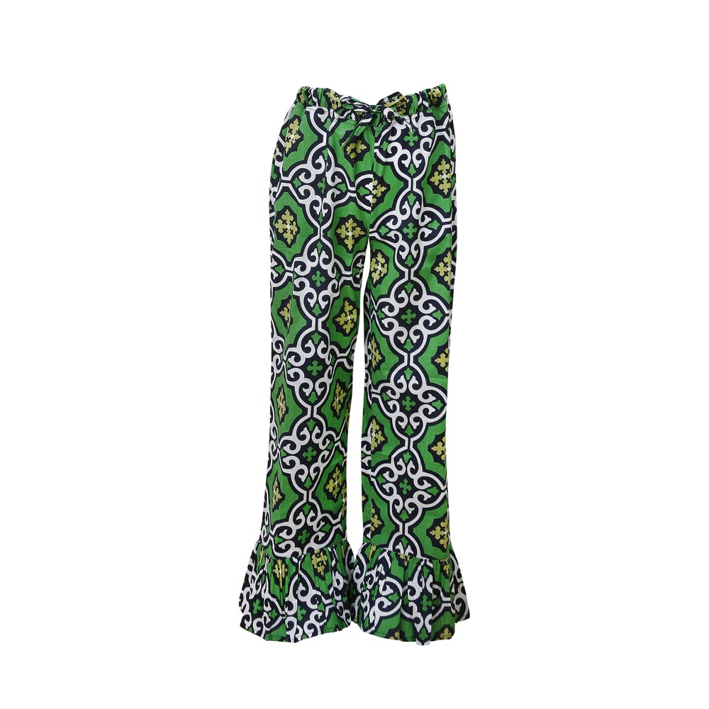 call me green navy kids lounge pants