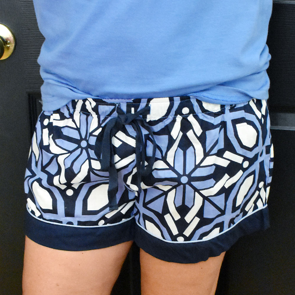 navy cantina kids lounge shorts
