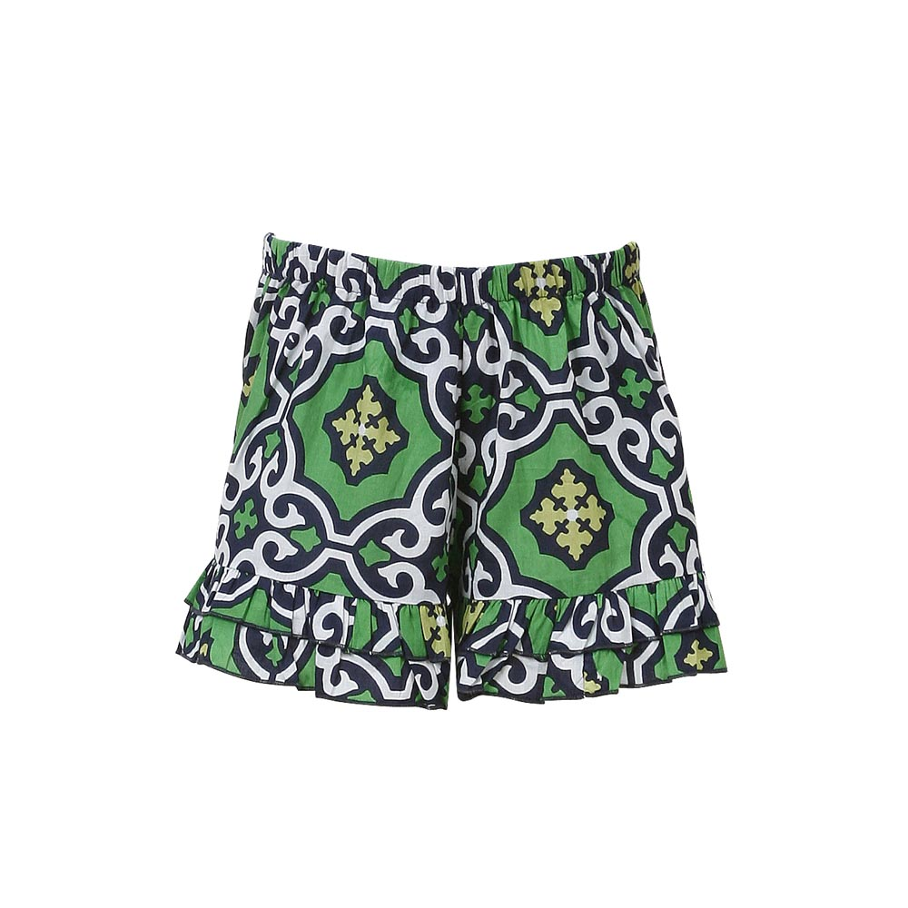 call me green navy kids lounge shorts