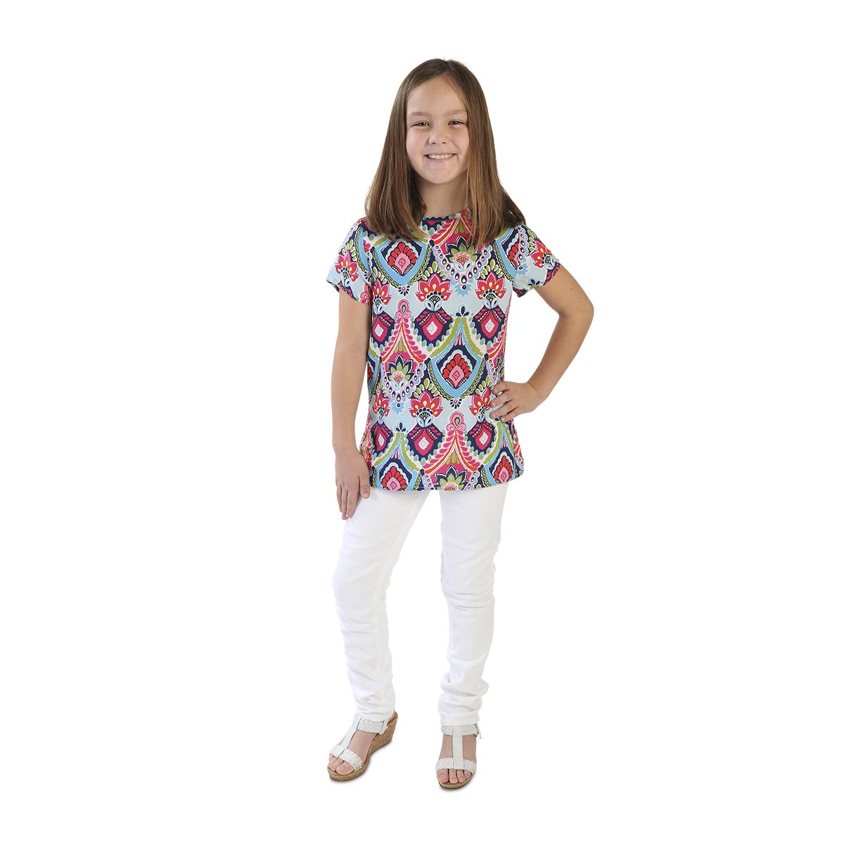 moroccan roll leah kids shirt