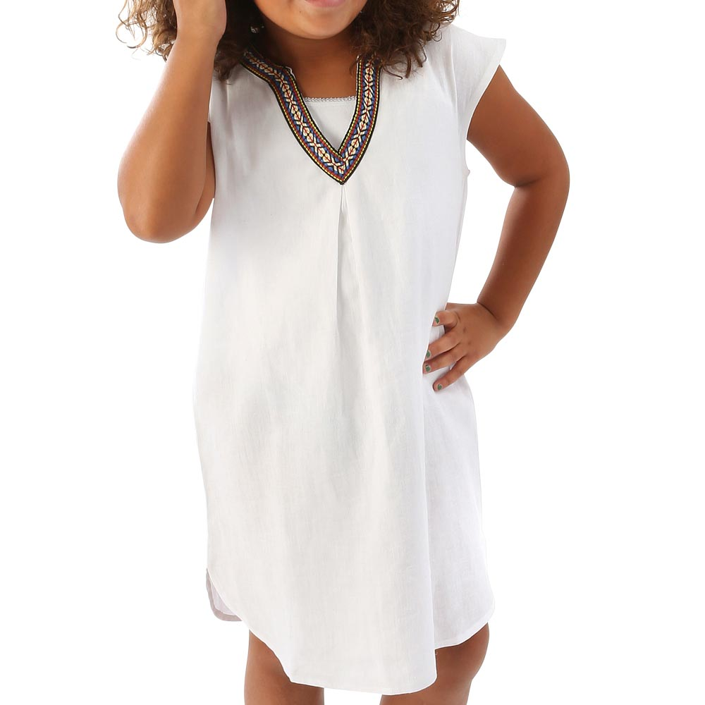 white sienna kids tunic