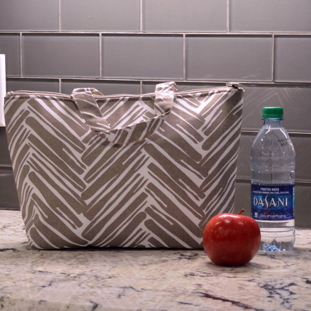 twill do mochachino lunch tote