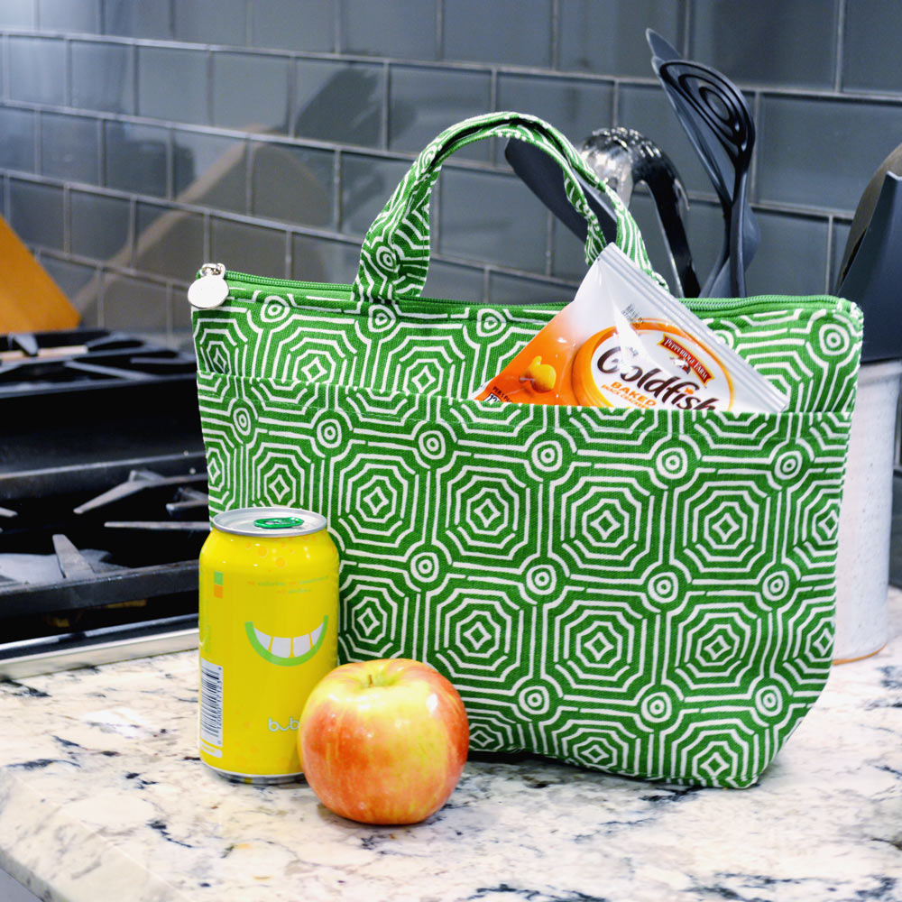 echo green lunch tote