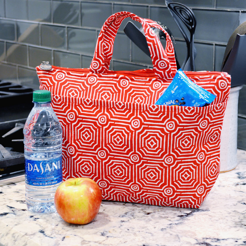 echo red lunch tote
