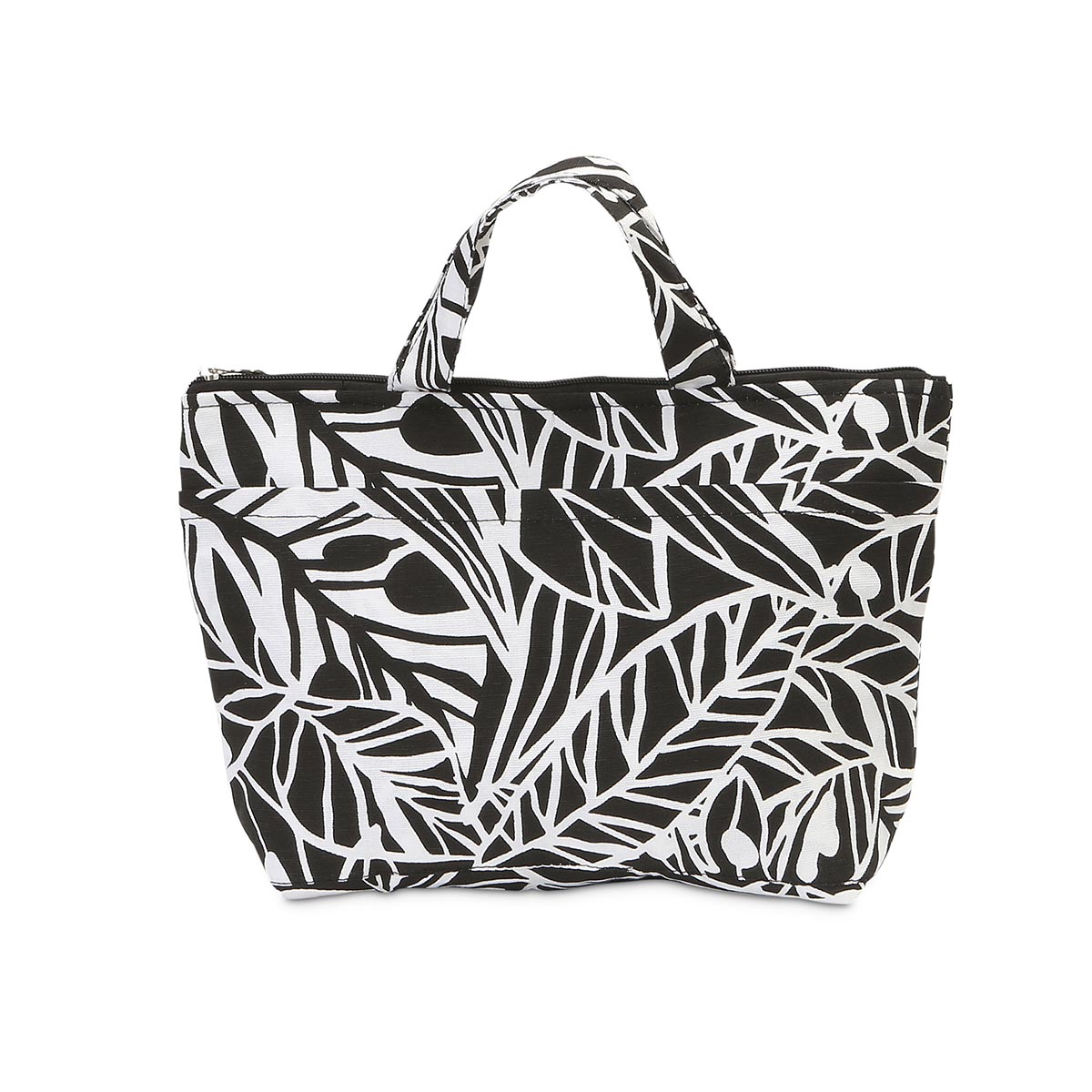 leaf a message lunch tote