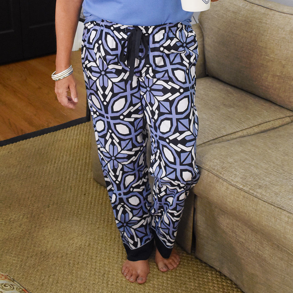 navy cantina lounge pants