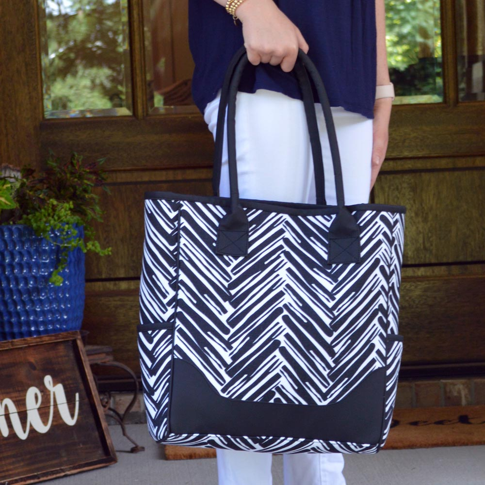 twill do black NGB tote