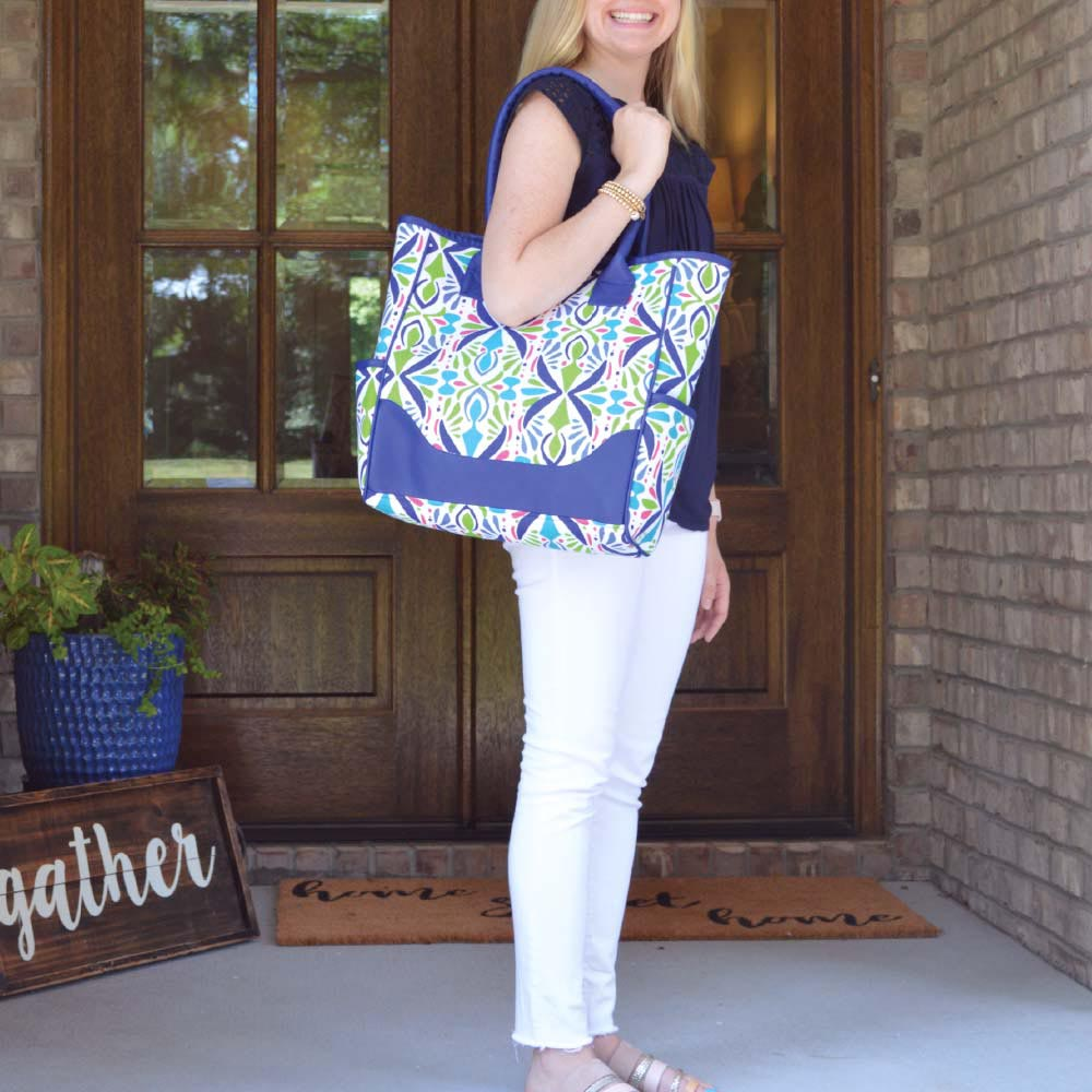 a little off tropic NGB tote