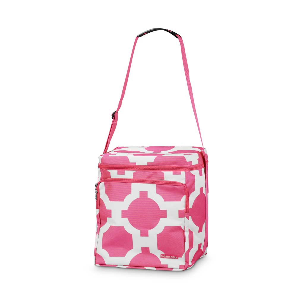 drop the latitude pink square cooler