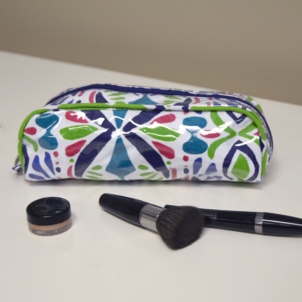 a little off tropic pencil pouch