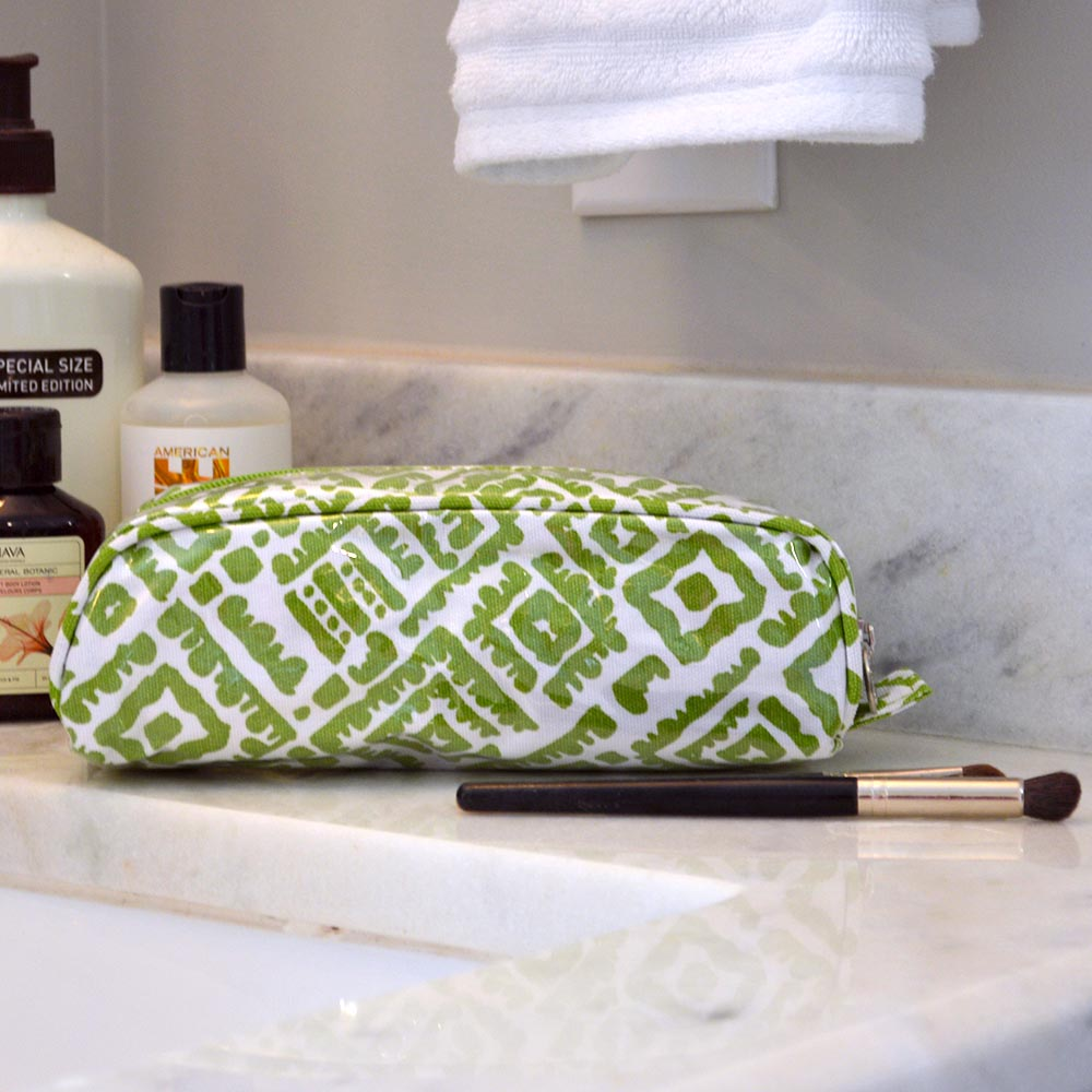 alma lime green pencil case