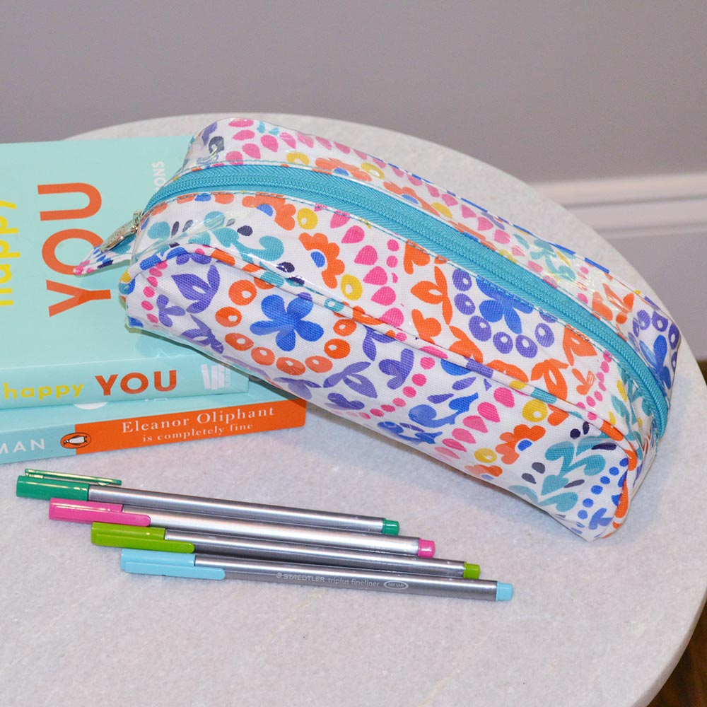 gone spiral pencil pouch