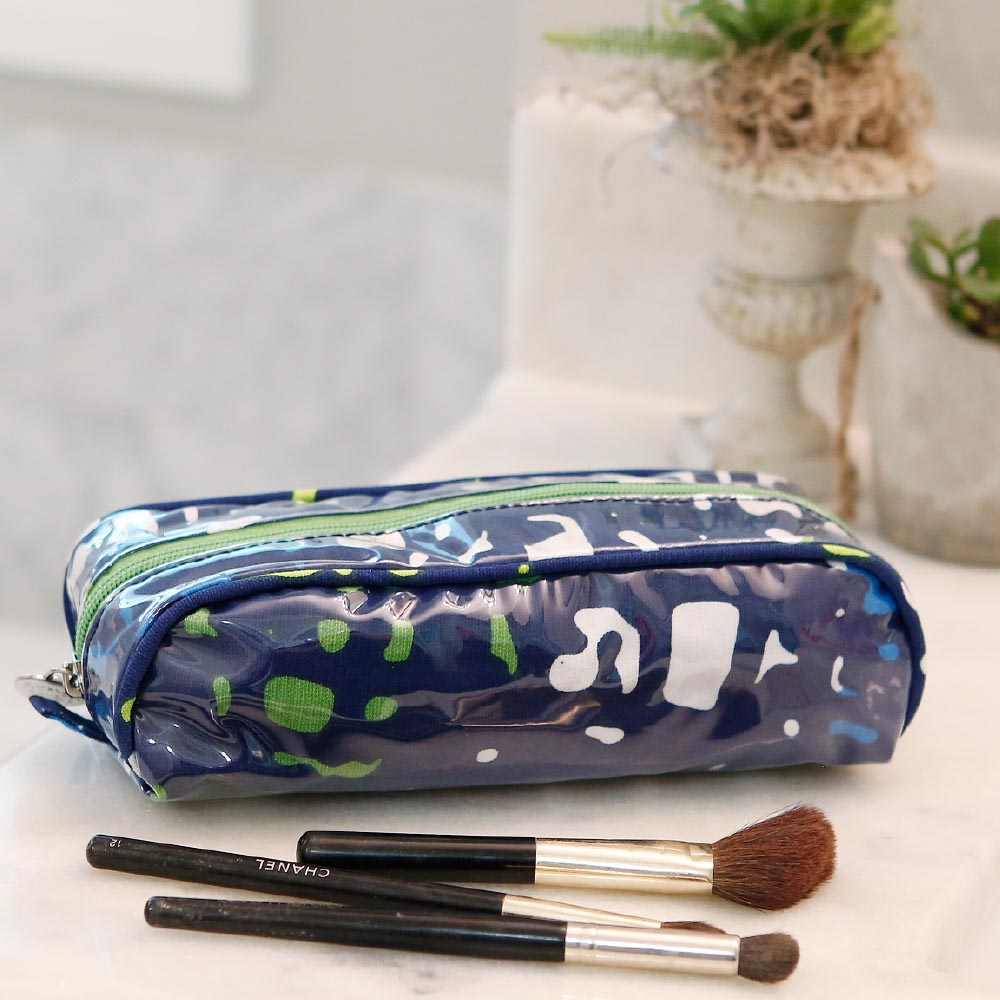 under wraps pencil and brush pouch