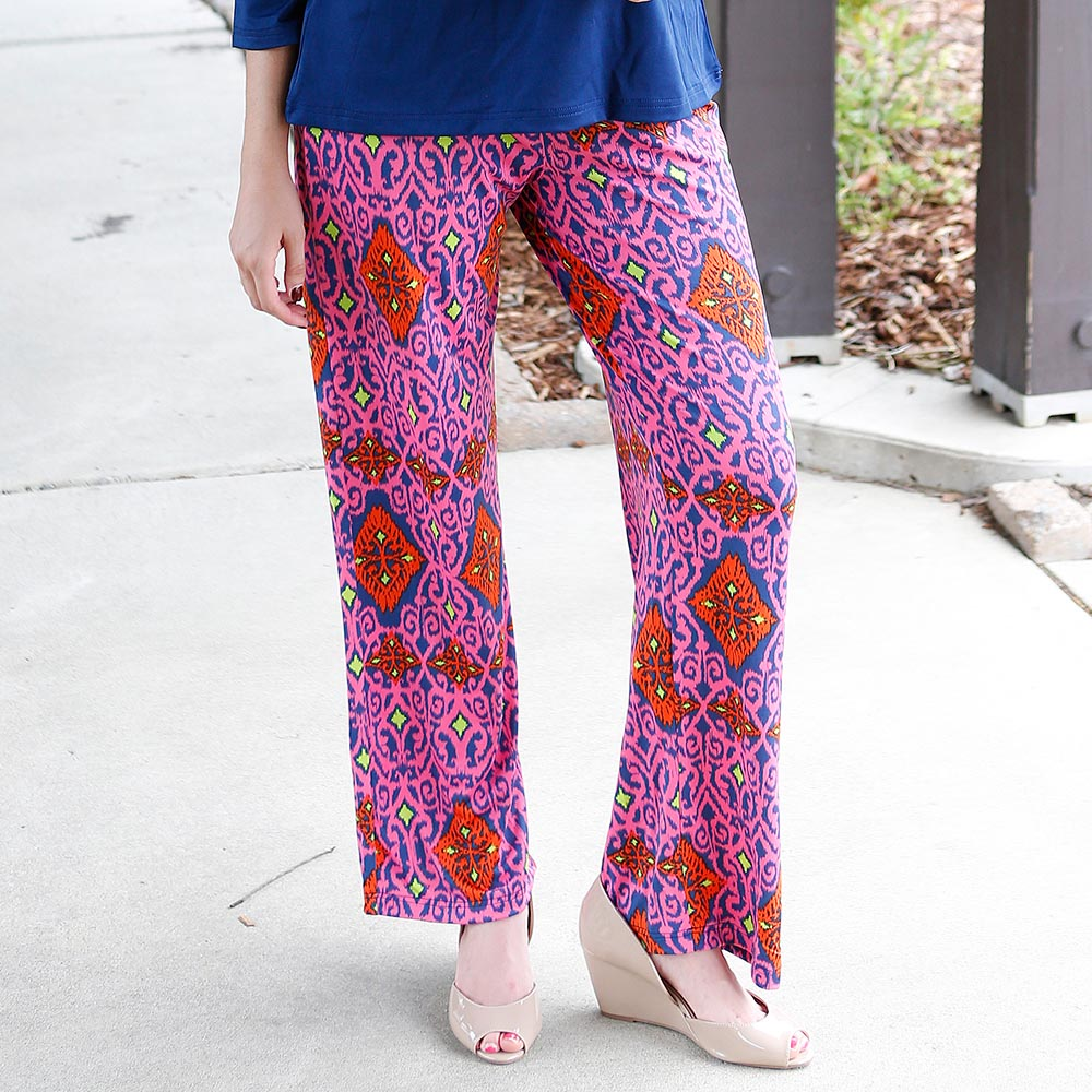 perfect zen foster poly-knit pants