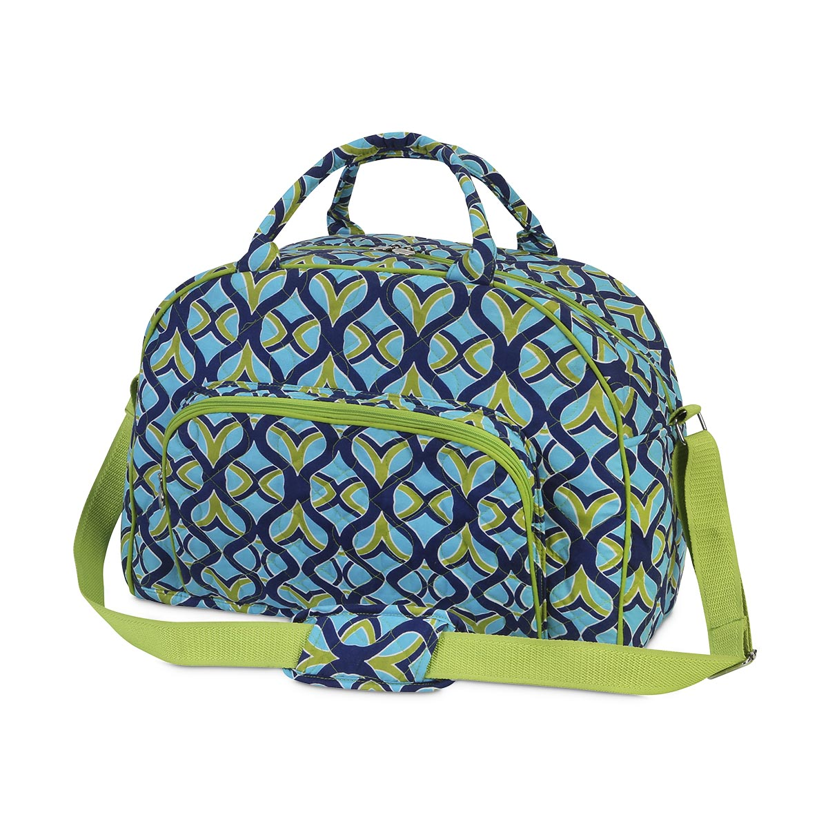 tango twist navy quilted day traveler