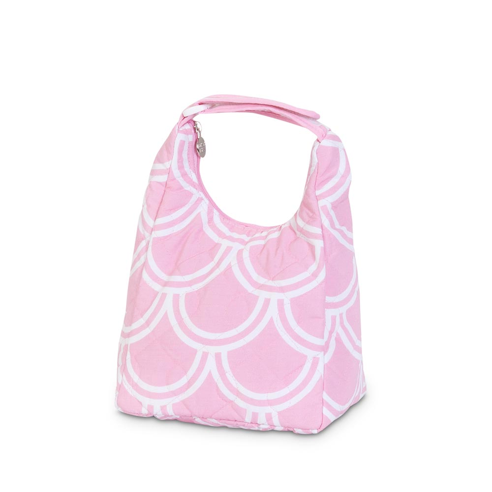 harbor bae baby pink quilted lunch