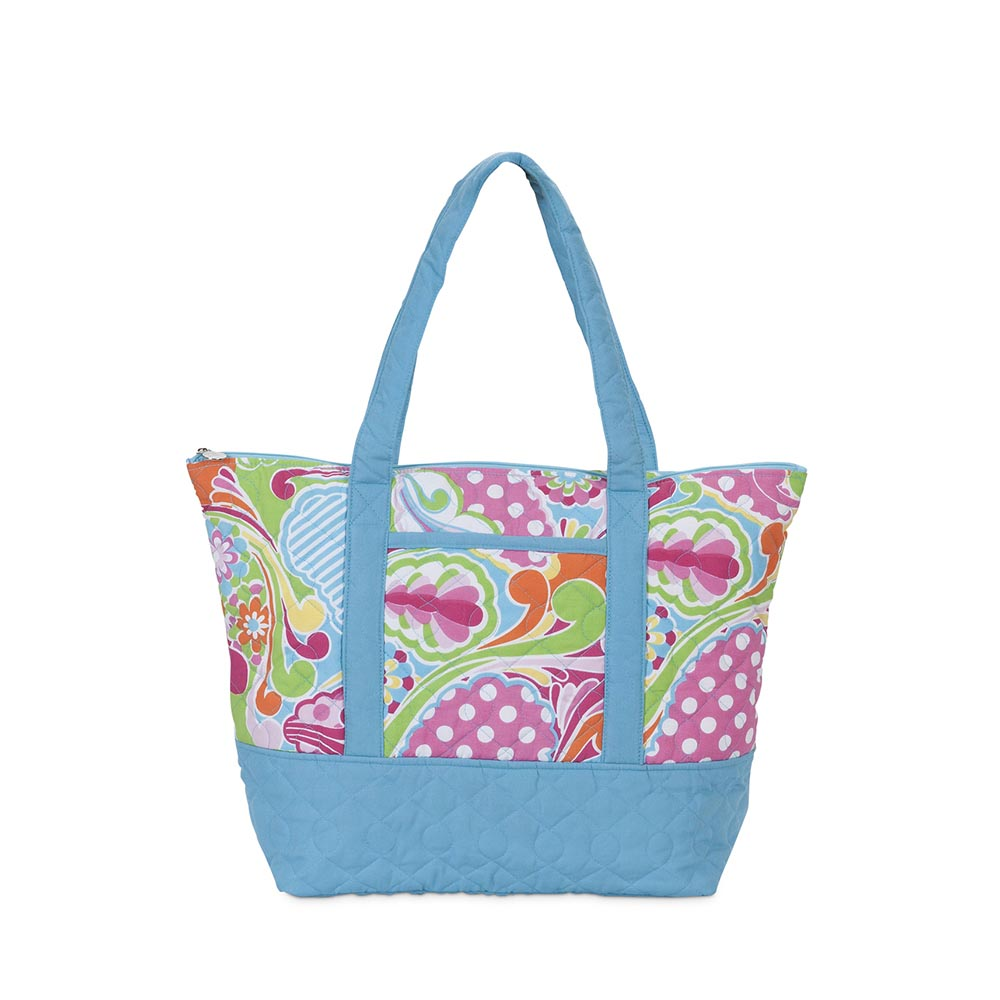 punch-uation! quilted tote