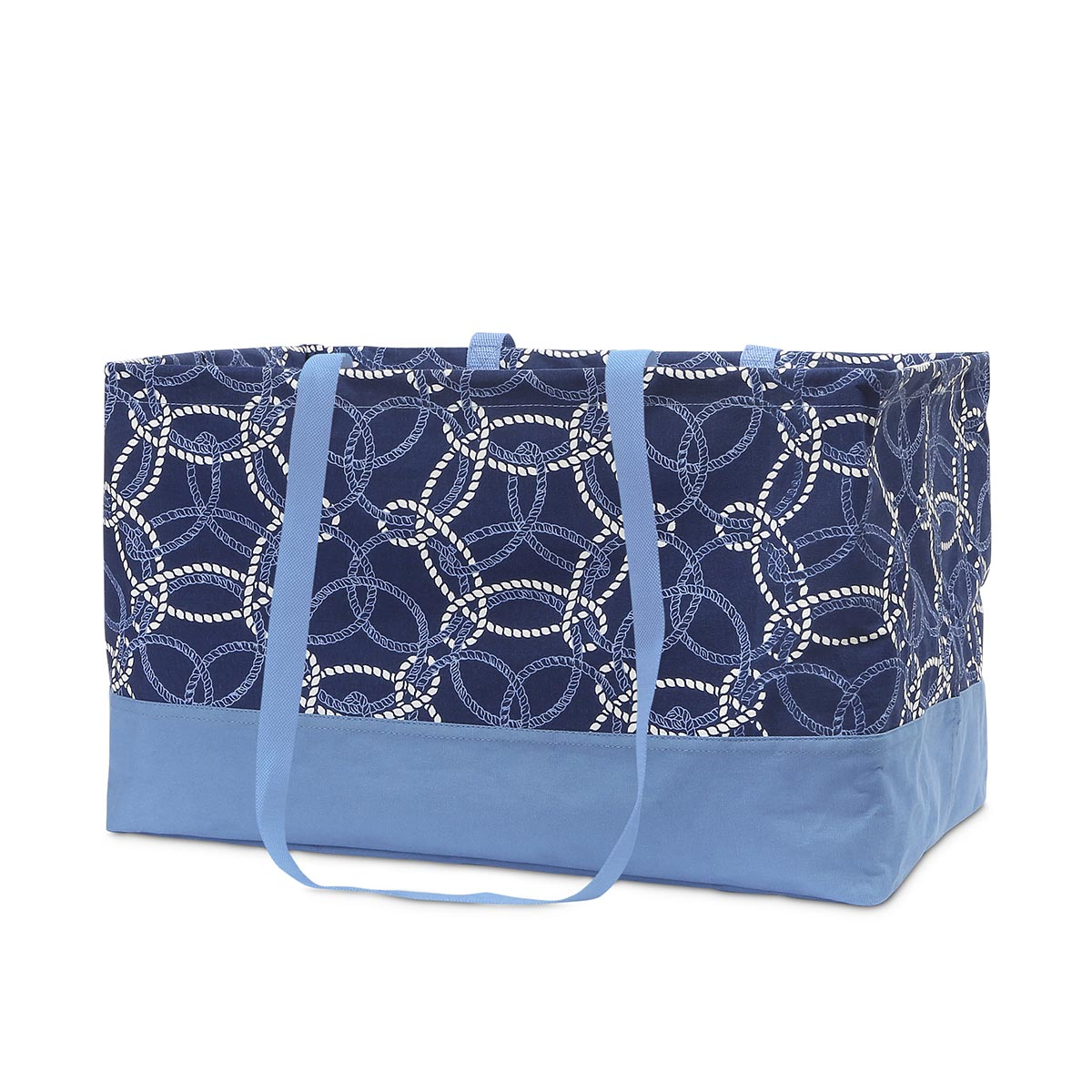 knot-ical rectangle storage tote