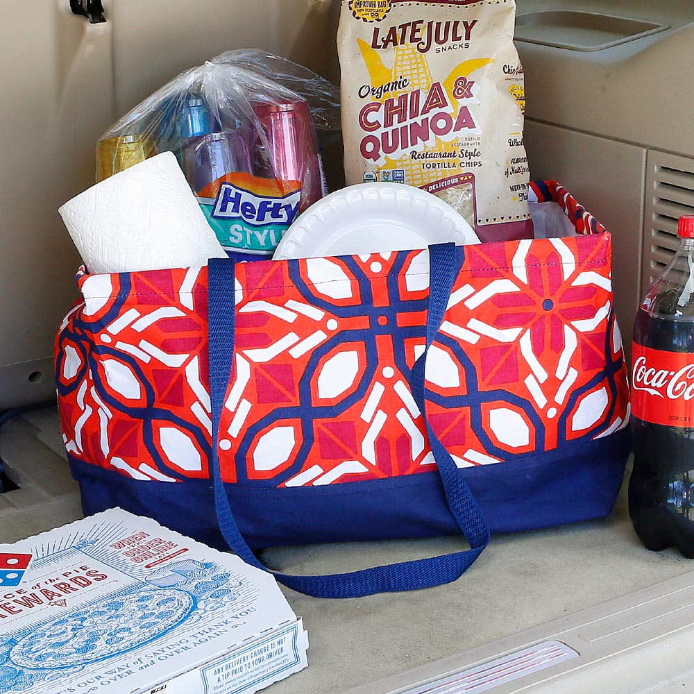 cantina rectangle storage tote