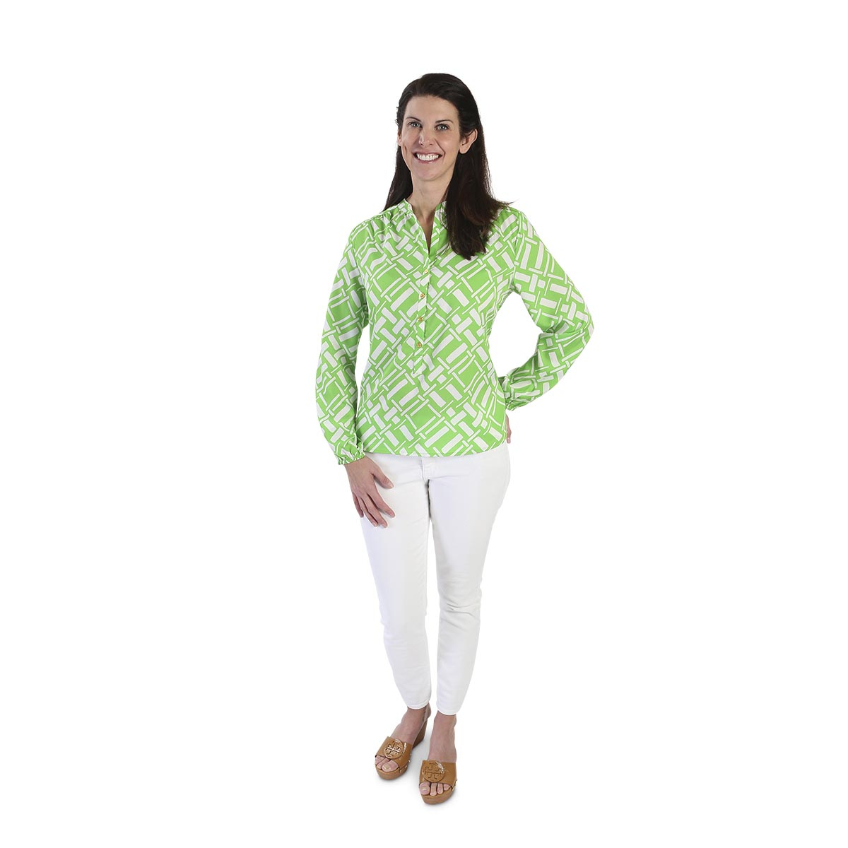 key largo green shirt