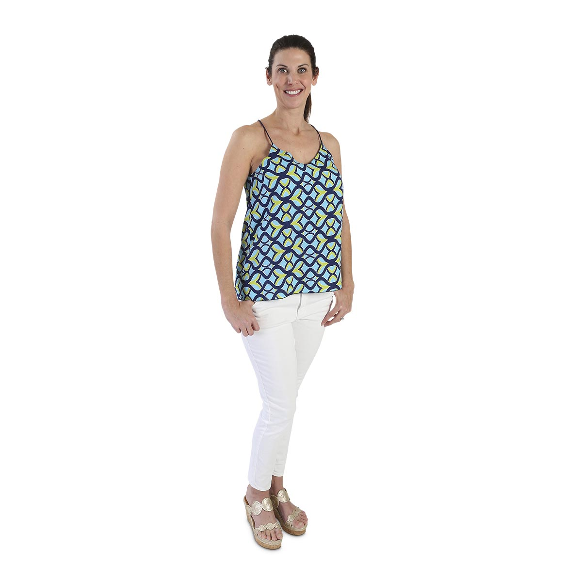 tango twist blue madelyn shirt