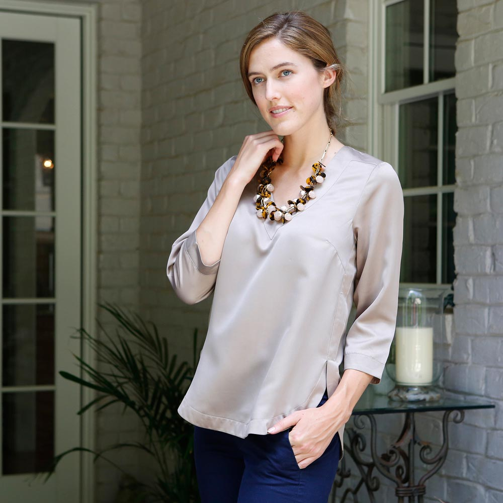 pewter walker top
