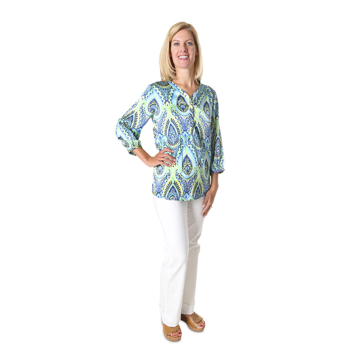 sonoma blue lillian shirt