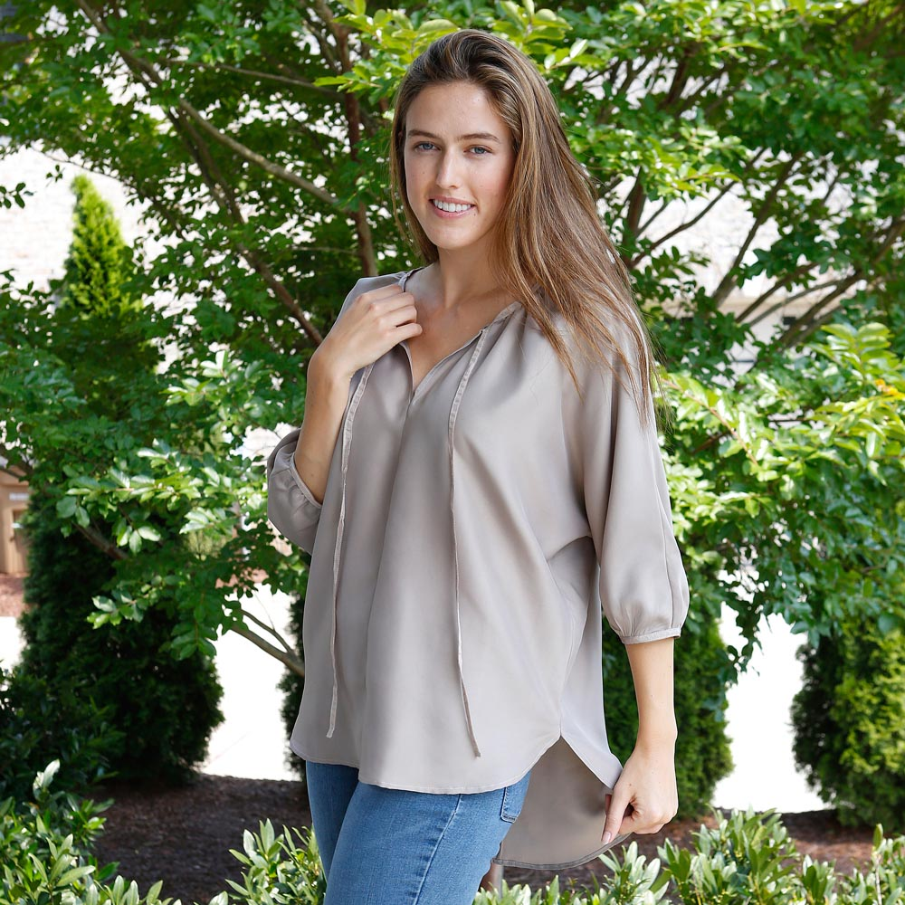 pewter reece top