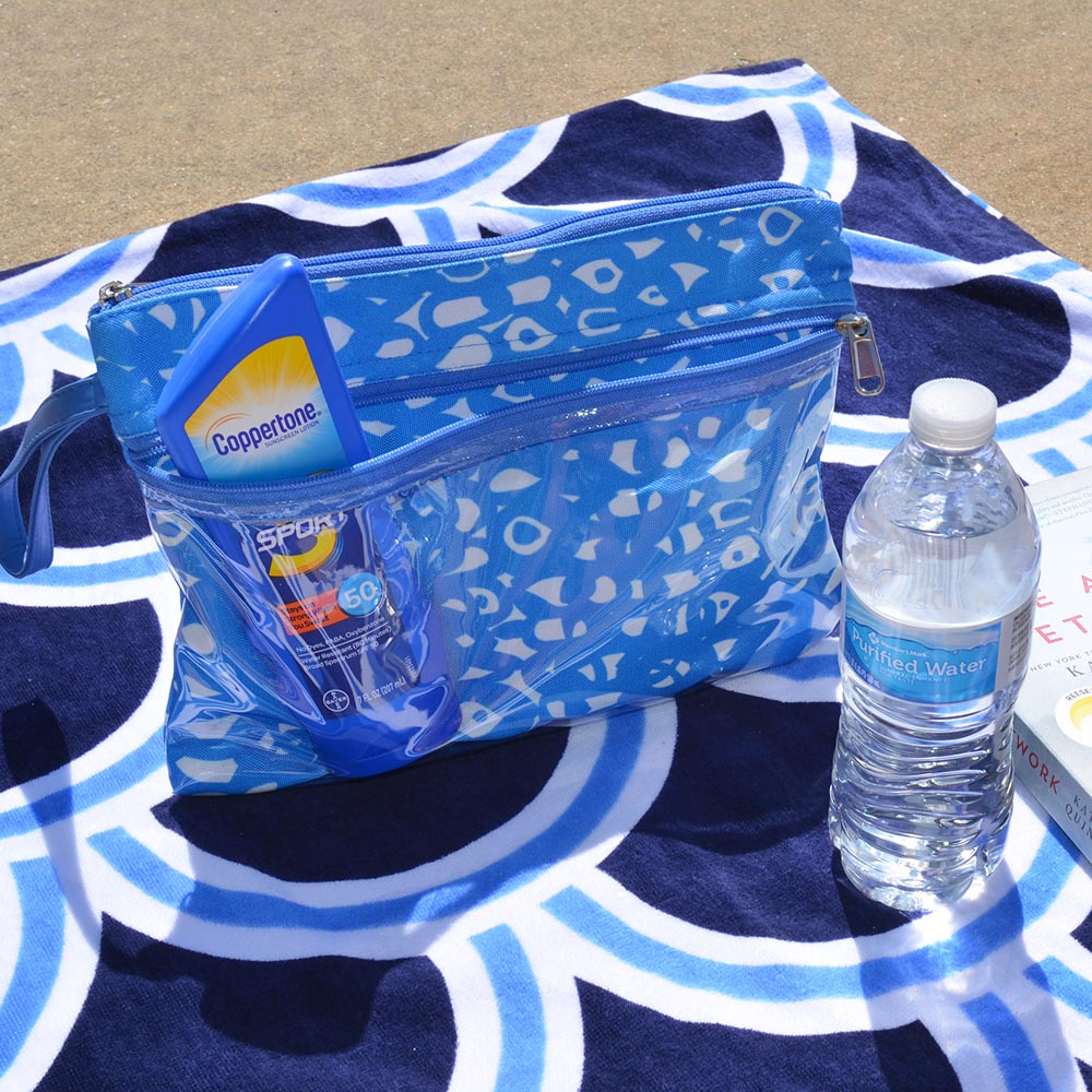 hoopla blue swim sac
