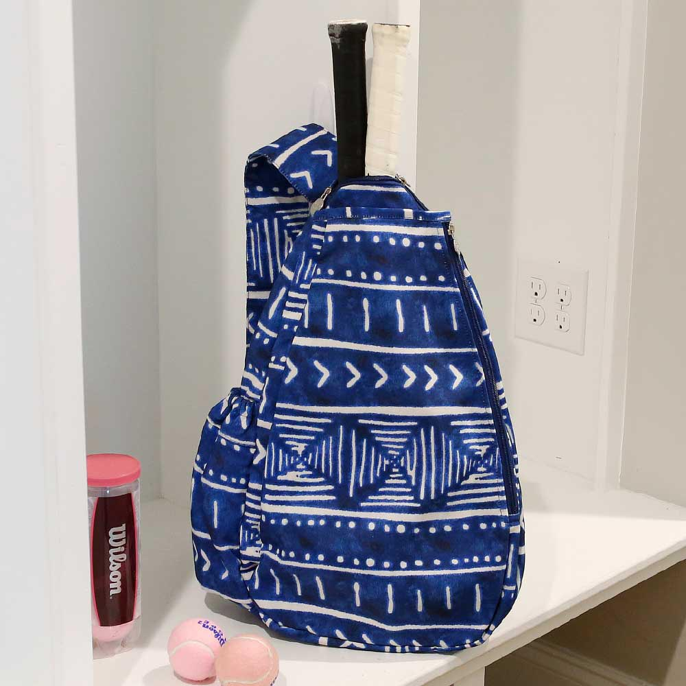 indigo daze tennis backpack