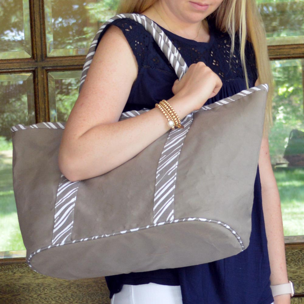 twill do mochachino traveler tote