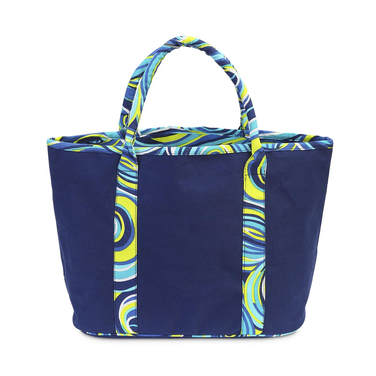 oh swell blue traveler tote