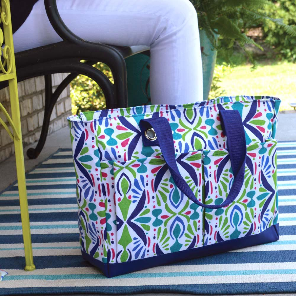 a little off tropic toss up tote
