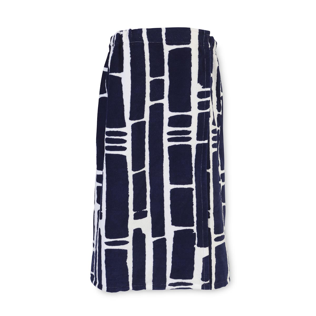 bamboo navy terry wrap