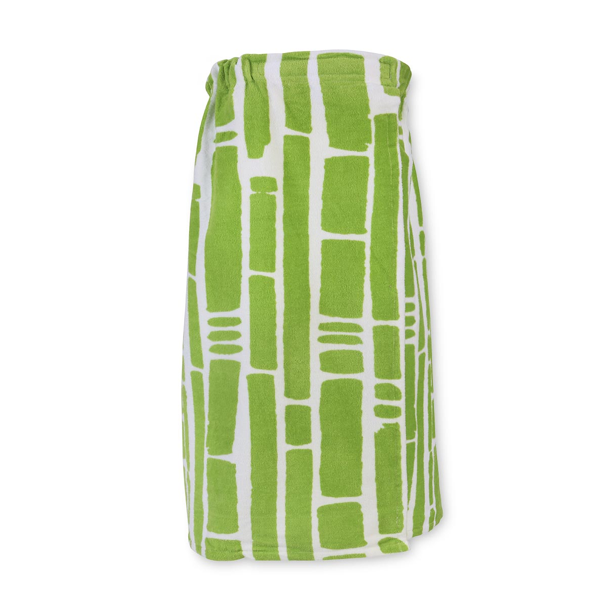 bamboo green terry wrap