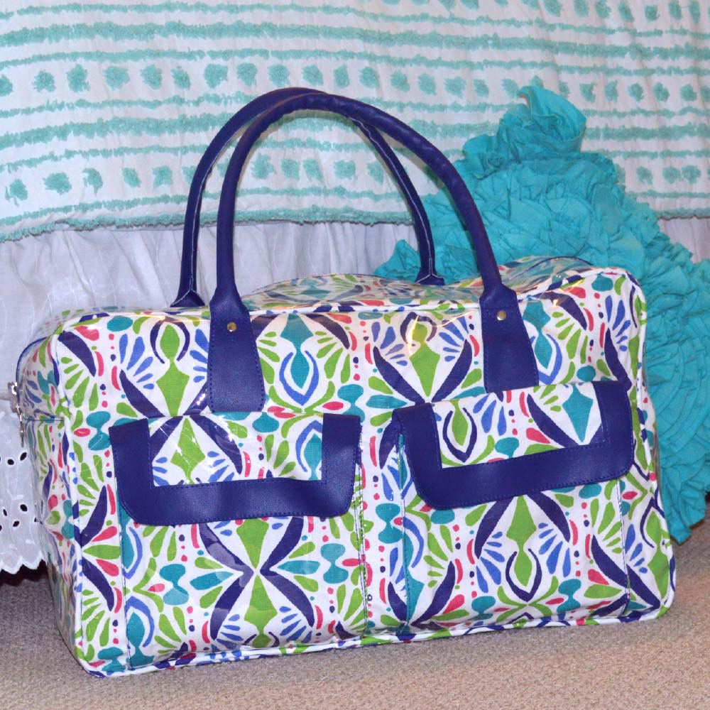 a little off tropic weekender duffle