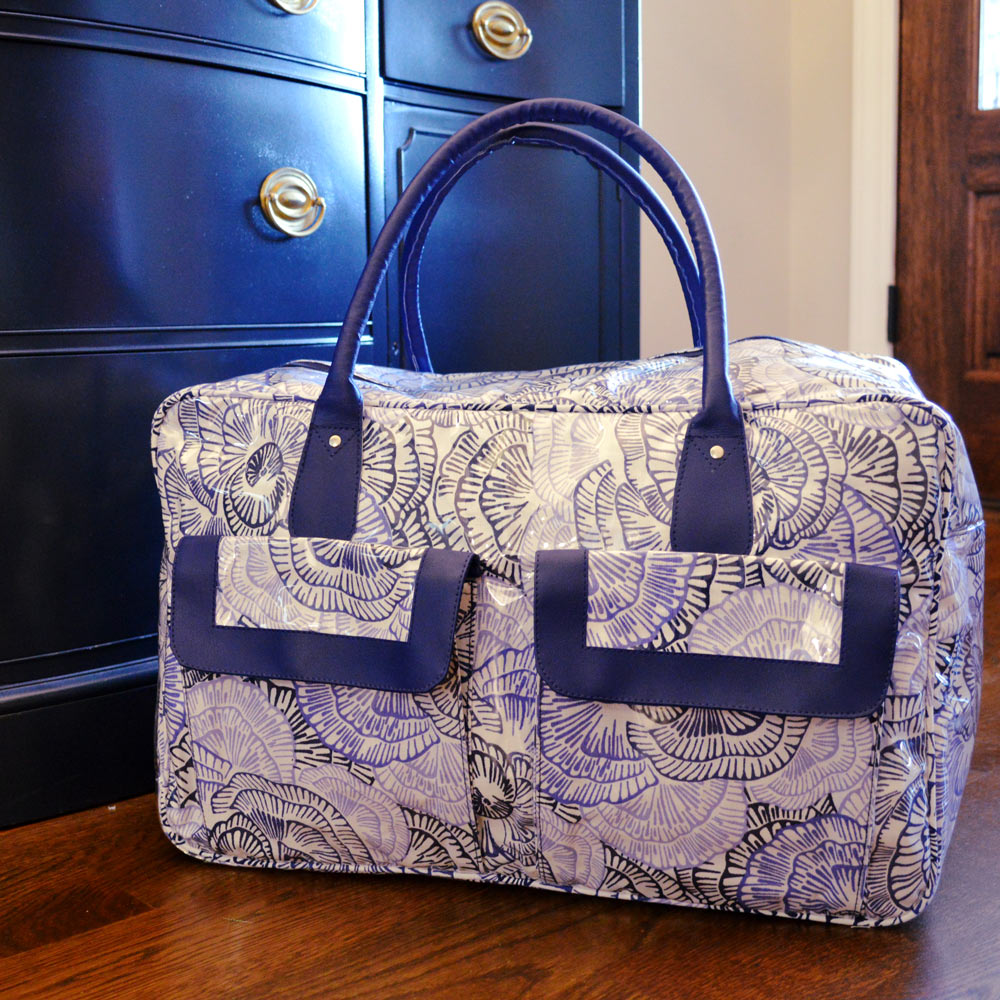outta the blue weekender duffle