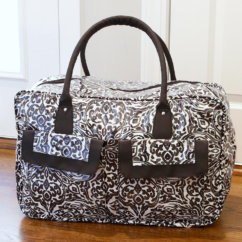 point blank black weekender duffle