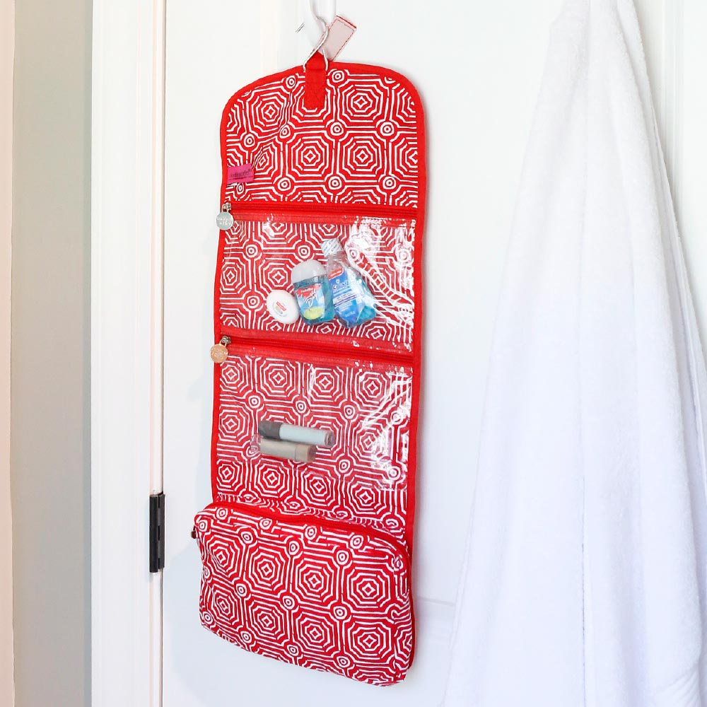 echo red accessory bag