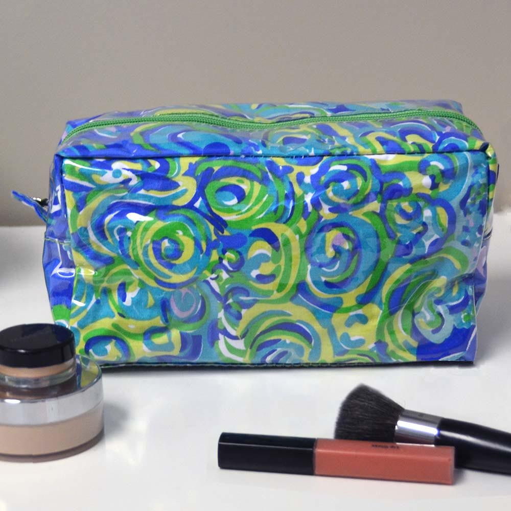 cool water cosmetic zipper bag