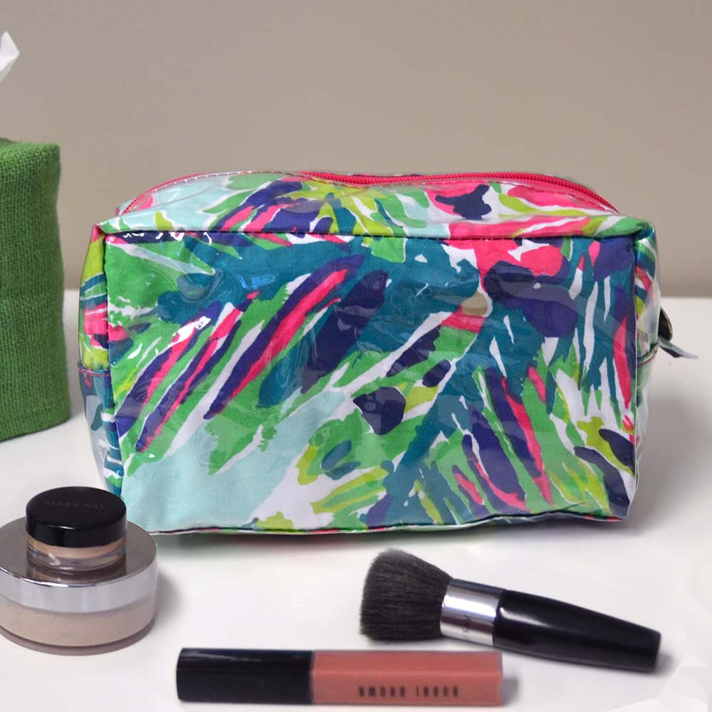 island girl cosmetic zipper bag