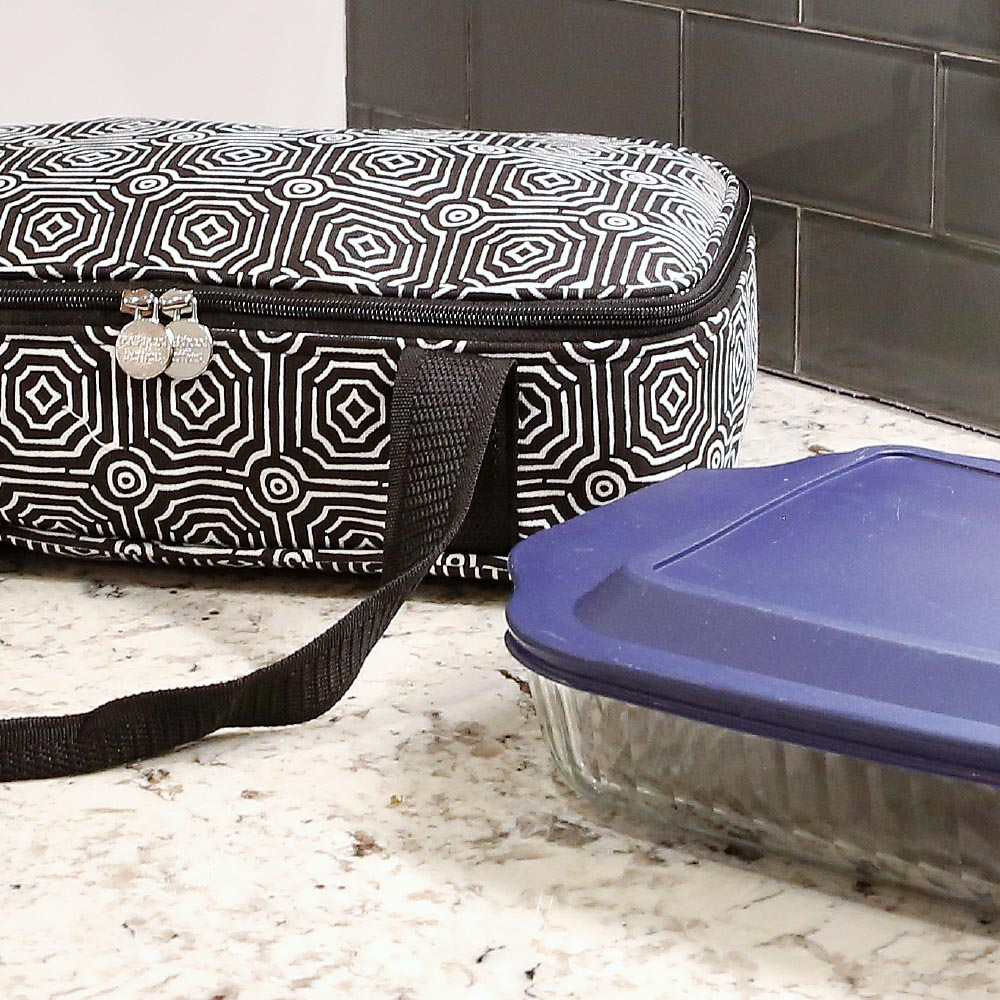 echo black casserole carrier