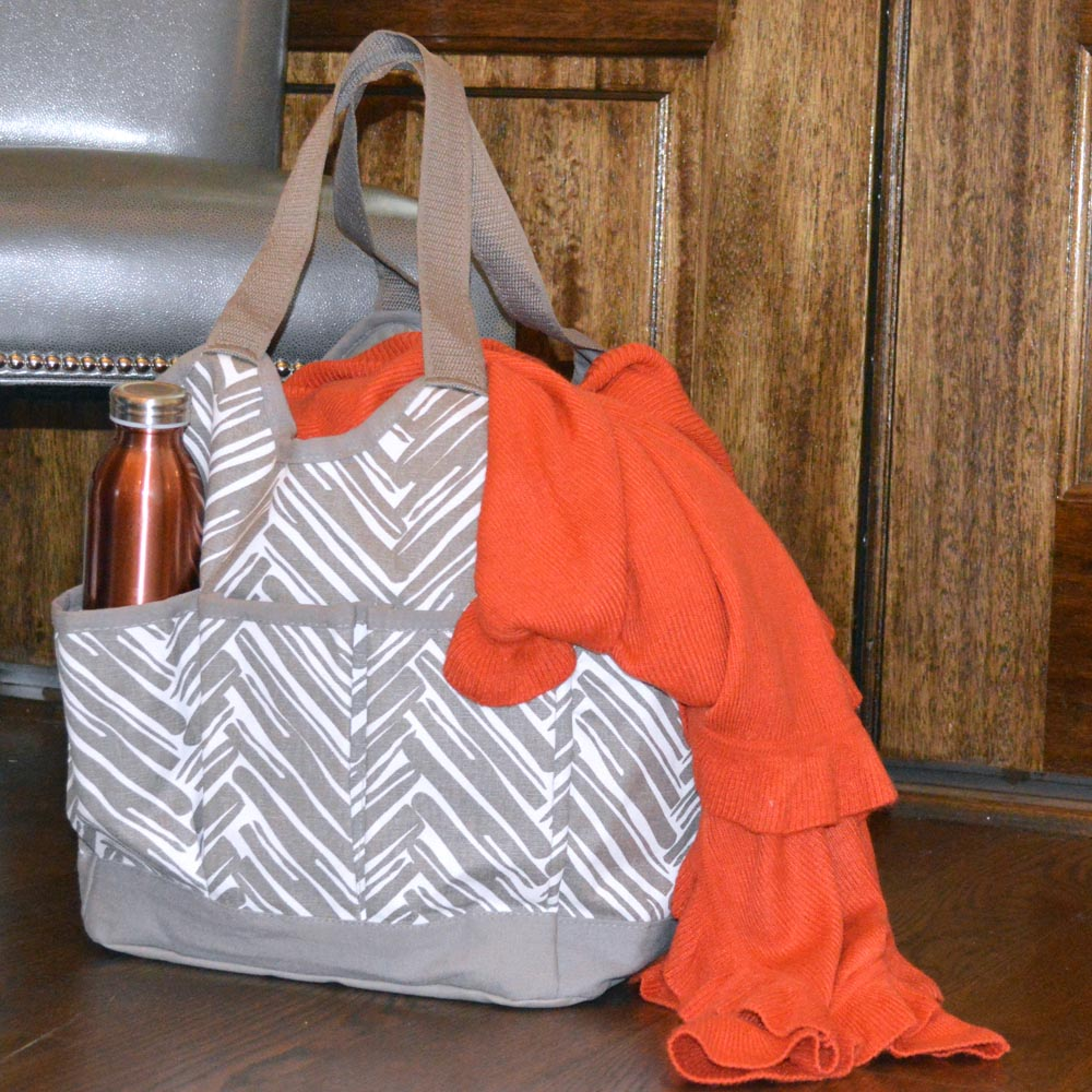 twill do mochachino canvas everything bag