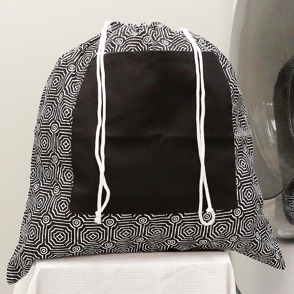 echo black laundry bag