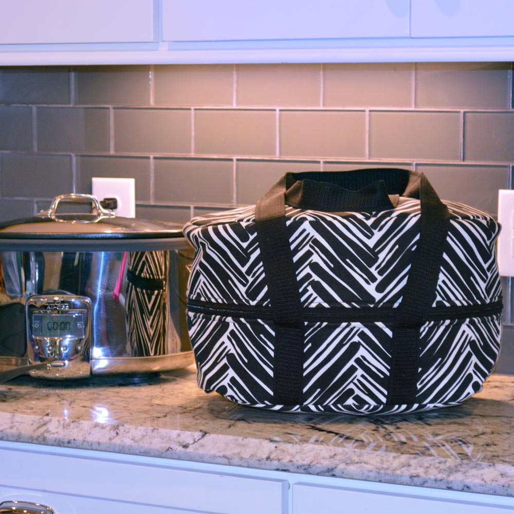 twill do black crockpot carrier