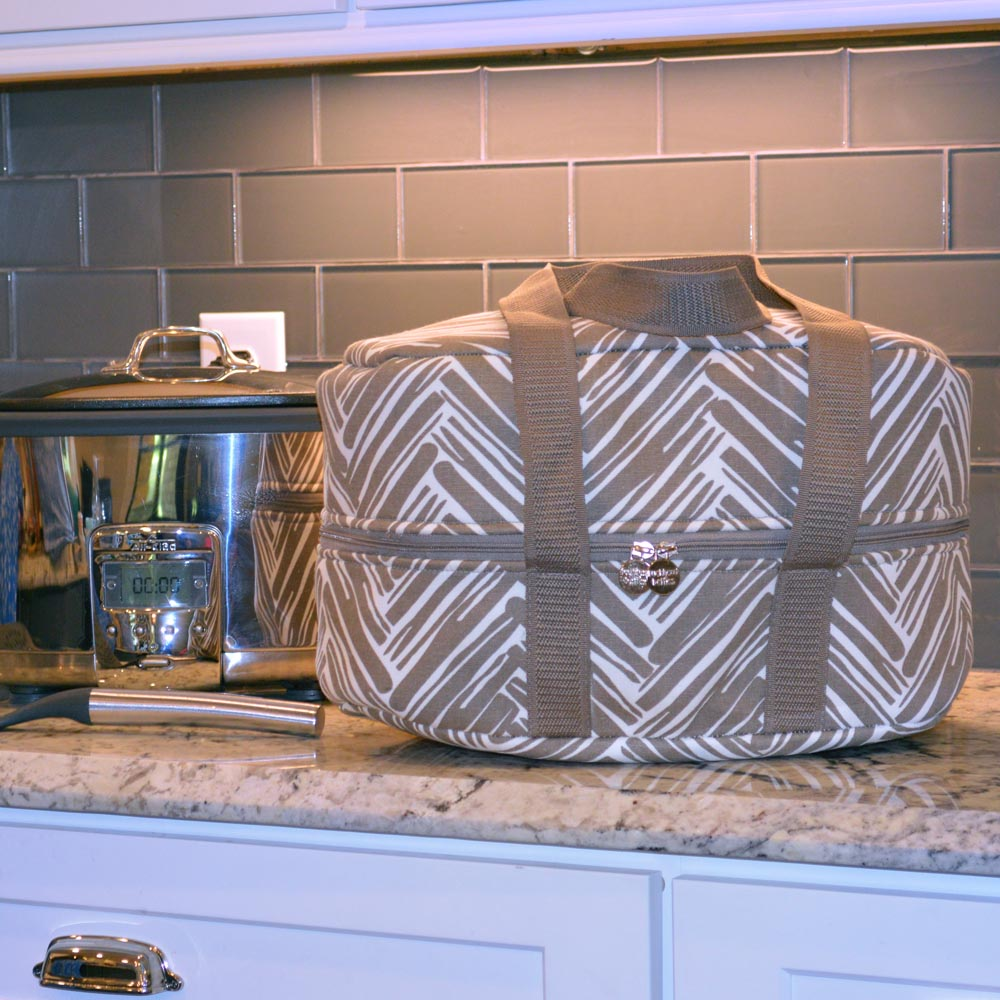 twill do mochachino crockpot carrier