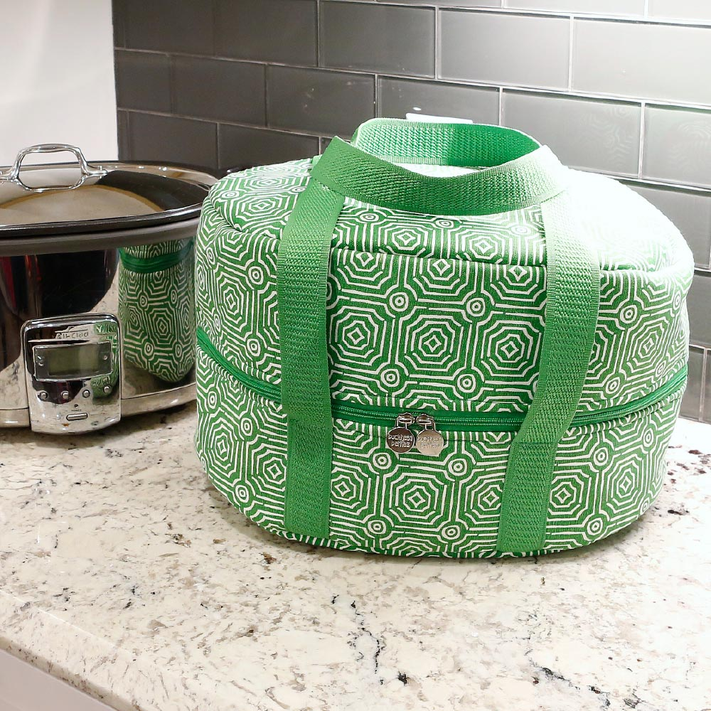echo green crockpot carrier