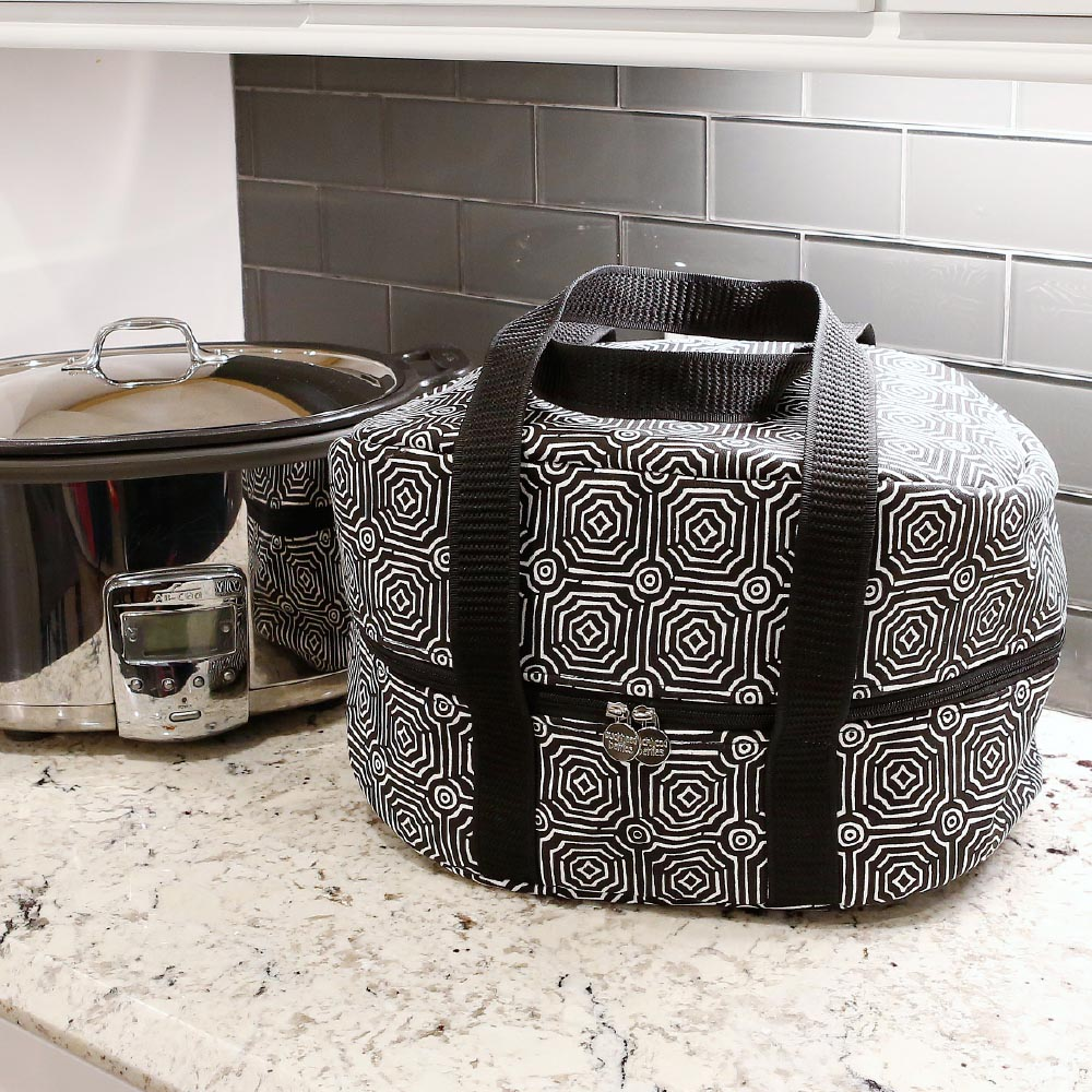 echo black crockpot carrier