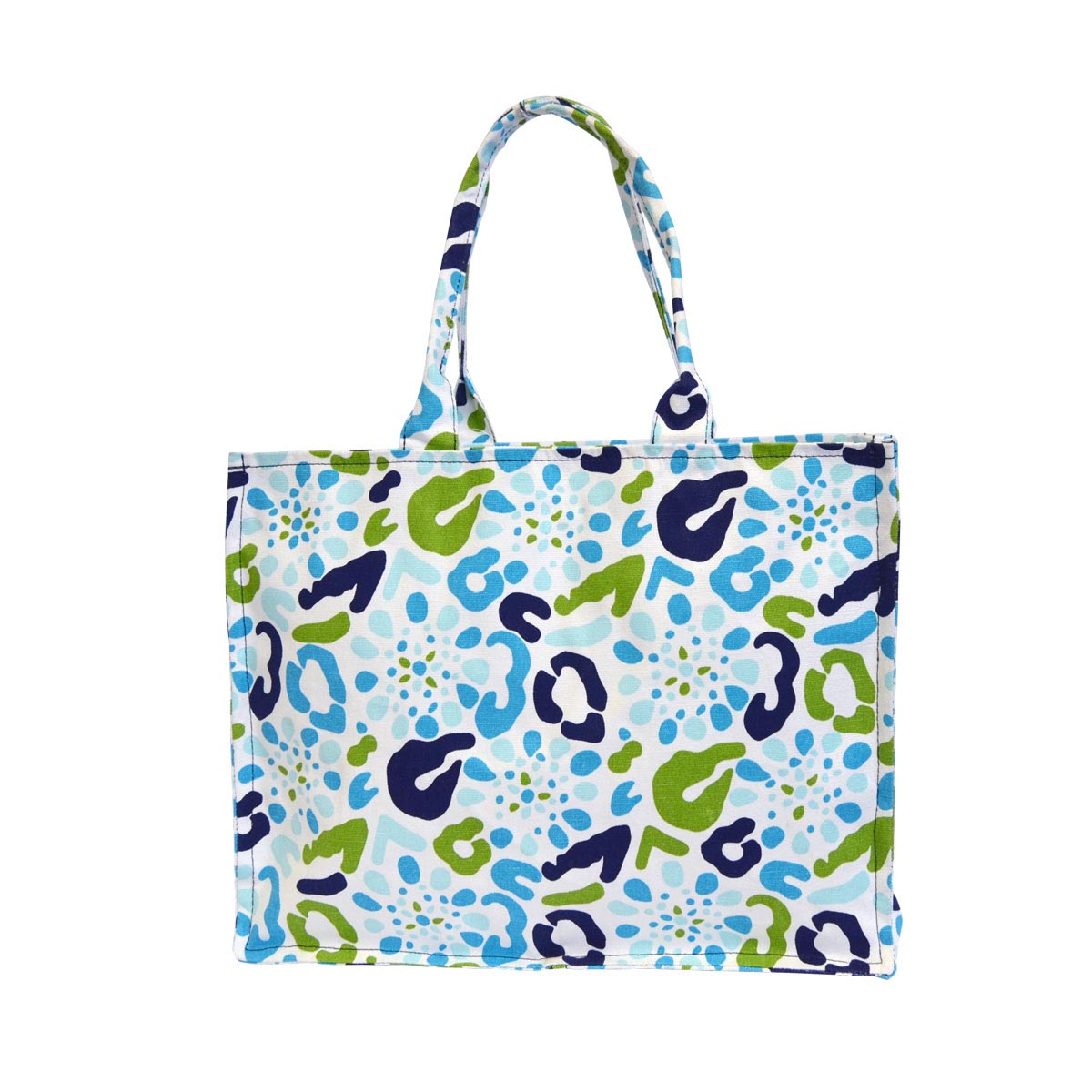 cha cha cheetah canvas tote