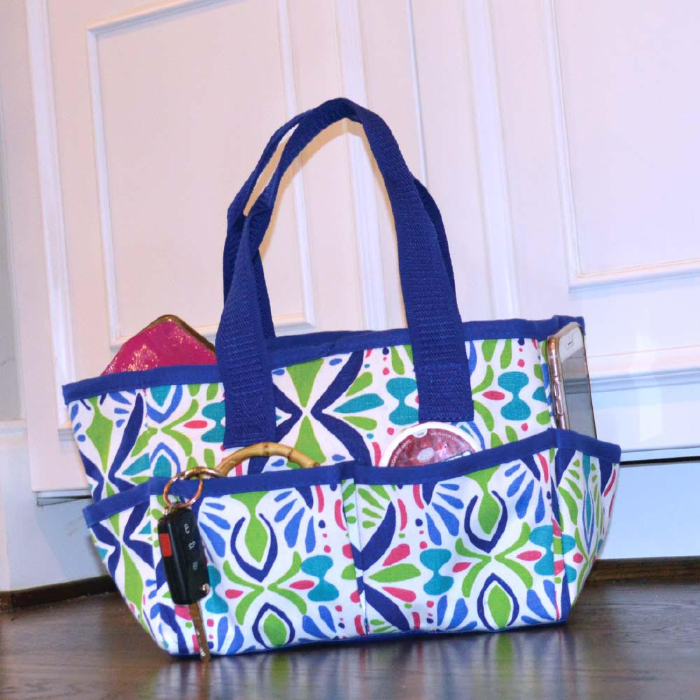 a little off tropic mini everyday tote
